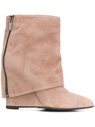 The Seller Foldover Wedge Boots 60