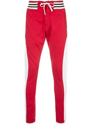 Greg Lauren Colour Blocked Track Trousers 60