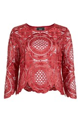 Goldie Money Maker Rusted Red Top By