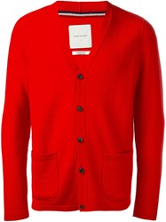 A Kind Of Guise Classic Cardigan Red