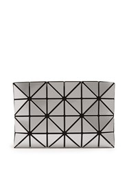 Issey Miyake Lucent Pouch Silver