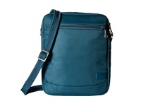 Pacsafe Citysafe Cs150 Anti Theft Crossbody Shoulder Bag Teal Cross Body Handbags Blue