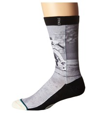 Stance Grounders Black Men's Crew Cut Socks Shoes