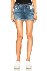 Rag And Bone Rag And Bone Jean Boyfriend Shorts In Blue