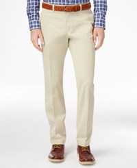 Barbour Men's Sitzmann Flat Front Chinos Stone
