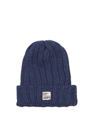Mt. Rainier Design Mr61339 Ribbed Knit Beanie Hat Blue