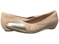 Clarks Alitay Susan Nude Leather Women's Flat Shoes Pink