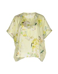 Brebis Noir Blouses Light Yellow