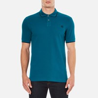 Paul Smith Ps By Men's Regular Fit Polo Shirt Turquoise
