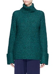 Elizabeth And James 'Clayton' Turtleneck Sweater Green