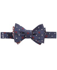 Brooks Brothers Men's Snowflake Navy To Tie Bow Tie