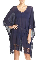 Tommy Bahama Women's Linen Blend Cover Up Poncho