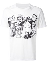 The Soloist Sketch Print T Shirt White