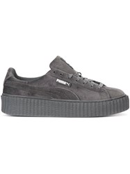 Puma Lace Up Sneakers Grey