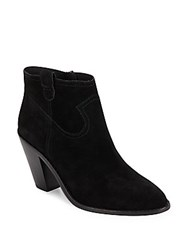 Ash Ivana Suede Ankle Boots Black