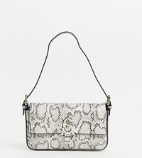 Steve Madden Bhaute Snake Print Effect Shoulder Bag Multi