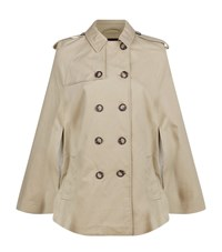 Set Trench Cape Female Taupe