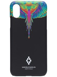 Marcelo Burlon County Of Milan Wings Print Iphone Xs Case 60