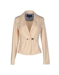 Armani Jeans Suits And Jackets Blazers Women Beige