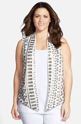 Plus Size Women's Tart 'Nerissa' Sequin Vest
