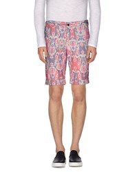 Pt01 Trousers Bermuda Shorts Men Fuchsia
