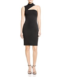 Lauren Ralph Lauren Asymmetric Cutout Dress 100 Bloomingdale's Exclusive Black