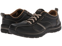 Skechers Superior Relaxed Fit Oxford Black Tan Men's Shoes
