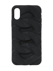 Versace Chain Reaction Rubber Iphone X Cover Black