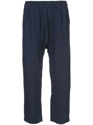 Raquel Allegra Sunday Trousers Blue