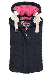 Superdry Chevron University Gilet Navy