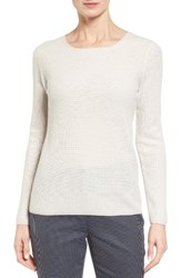 Nordstrom Women's Collection Button Back Cashmere Pullover