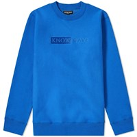 Know Wave Tbt Crew Sweat Blue