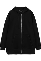 Givenchy Oversized Printed Neoprene Hooded Top Black