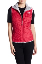 The North Face Fleece Lined Reversible Vest Pink