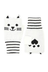 Forever 21 Cat Print Fingerless Gloves
