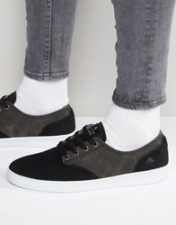 Emerica Romero Laced Trainers Black