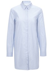 Oui Oversized Shirt Light Blue