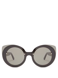 Retrosuperfuture Rita Acetate Sunglasses Black