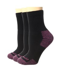 Carhartt Cotton Ankle 3 Pack Black Women's Low Cut Socks Shoes