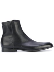 Paul Smith London Classic Ankle Boot Men Leather 6 Black