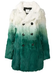 Each X Other Gradient Effect Coat White