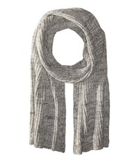 Birkenstock Fashion Bling Scarf Gray White Silver Scarves