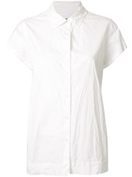 Casey Casey Chloe Short Sleeve Shirt White