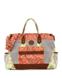 Multi Print Weekender Bag Multi Maaji