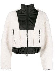 3.1 Phillip Lim Faux Shearling Jacket White