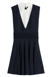 The Kooples Sleeveless Shirtdress Multicolor