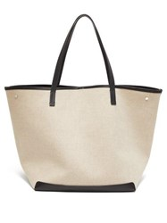 The Row Park Xl Canvas Tote Grey Multi