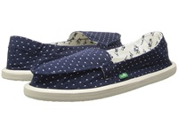 Sanuk Shorty Dots Navy Dots Women's Shoes