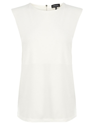 Warehouse Shoulder Pad Shell Top Cream