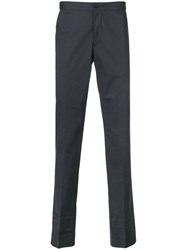 Incotex Slim Tailored Trousers Blue